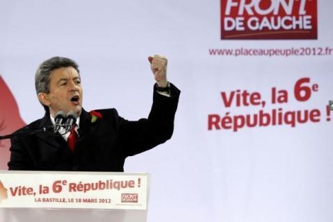 Mélenchon campagne 2012 6e République