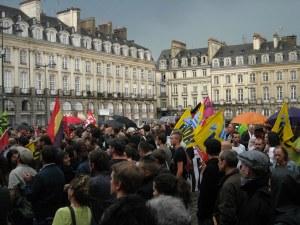 Rassemblement à Rennes