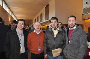 A gauche Victor Gallou, à droite, Thomas Le Turnier, représentants de l'UDB Jeunes.