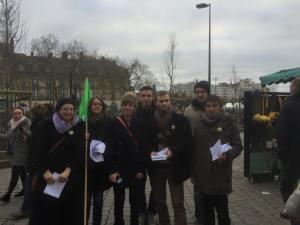 Dimanche 21 décembre 2014 contre l'ouverture des commerces dans le centre-ville