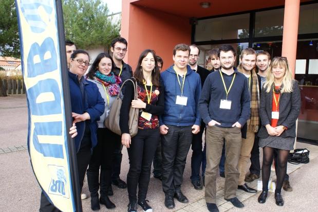 Les Jeunes de l'Union Démocratique Bretonne ont élu leur nouveaubureau